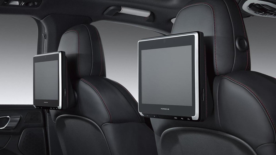 Porsche Exclusive launches rear seat entertainment system for Macan, Cayenne and Panamera