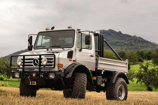 Arnold Schwarzenegger's Mercedes-Benz Unimog Just Turned Up on eBay