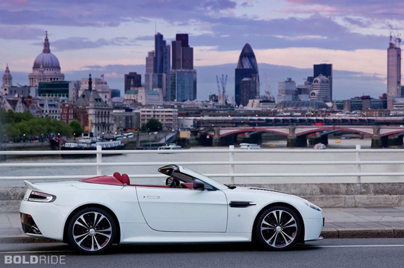 British Invasion: Supermodels from Aston Martin, McLaren and Noble Go Topless