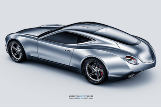 This Gorgeous Concept Car Evokes the World's Fastest Bird