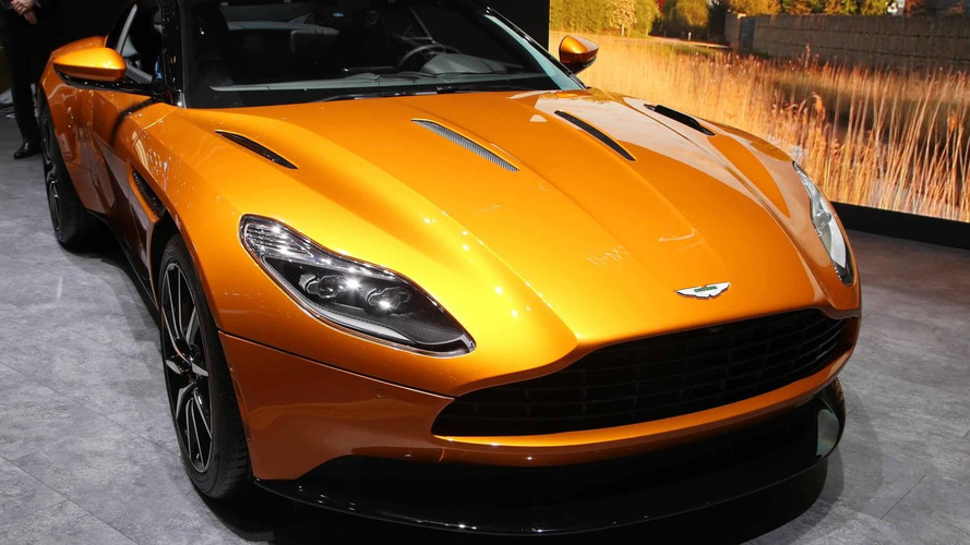 Aston Martin DB11 brings gorgeous design and 600 hp to Geneva