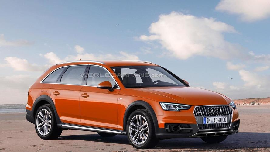 Audi A4 allroad quattro digitally imagined ahead of 2016 launch