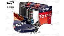 Red Bull RB12 rear wing, Sochi
