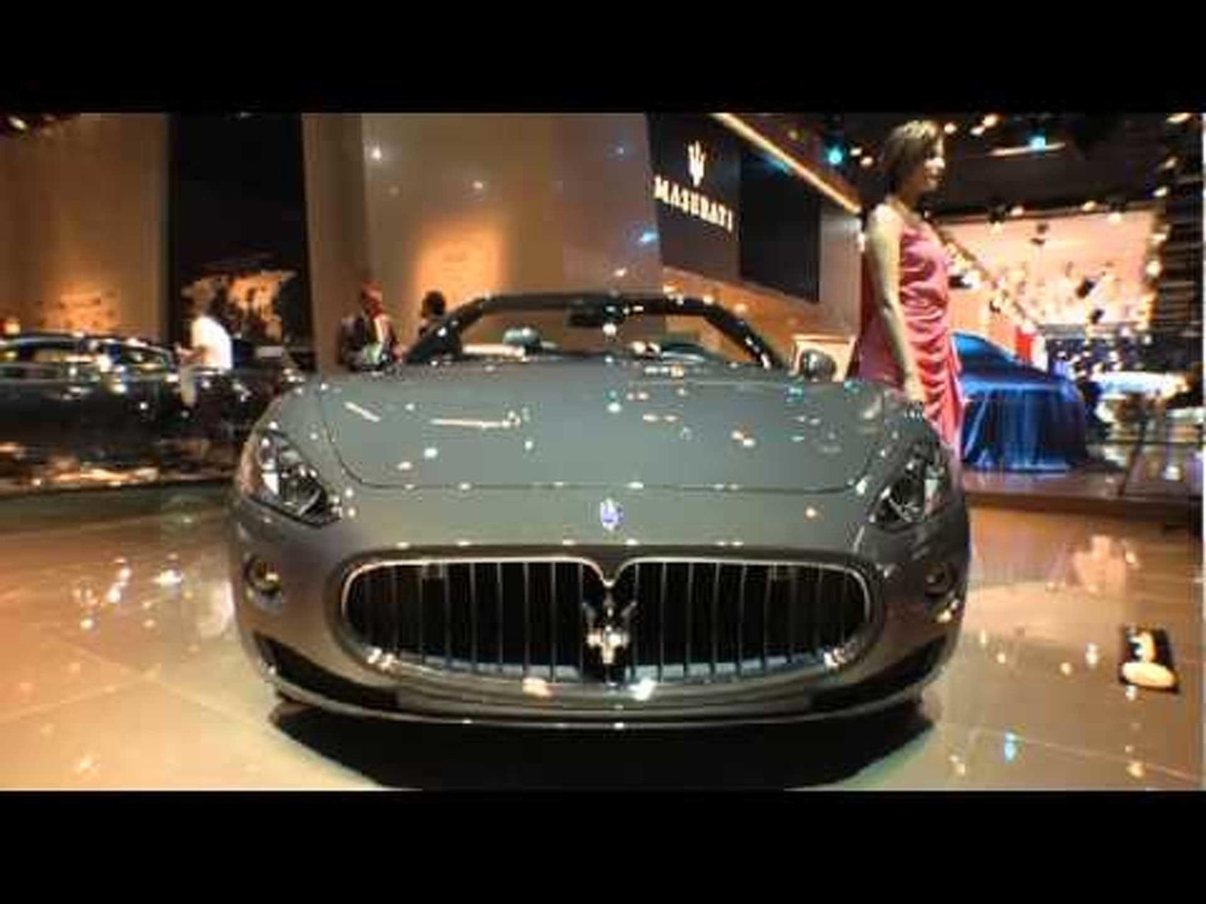 2012 Maserati Gran Cabrio Fendi - 2011 Frankfurt Motor Show Video