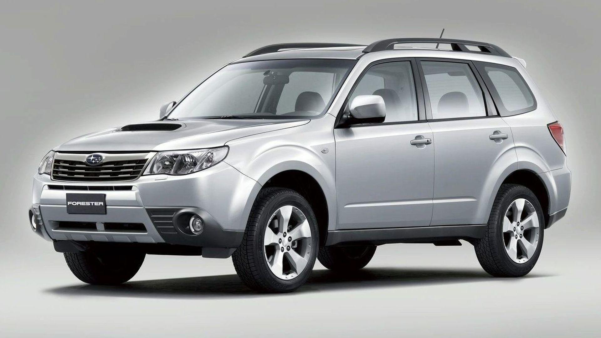 Subaru Boxer Diesel Engine Paris Debut in Forester and Impreza Models