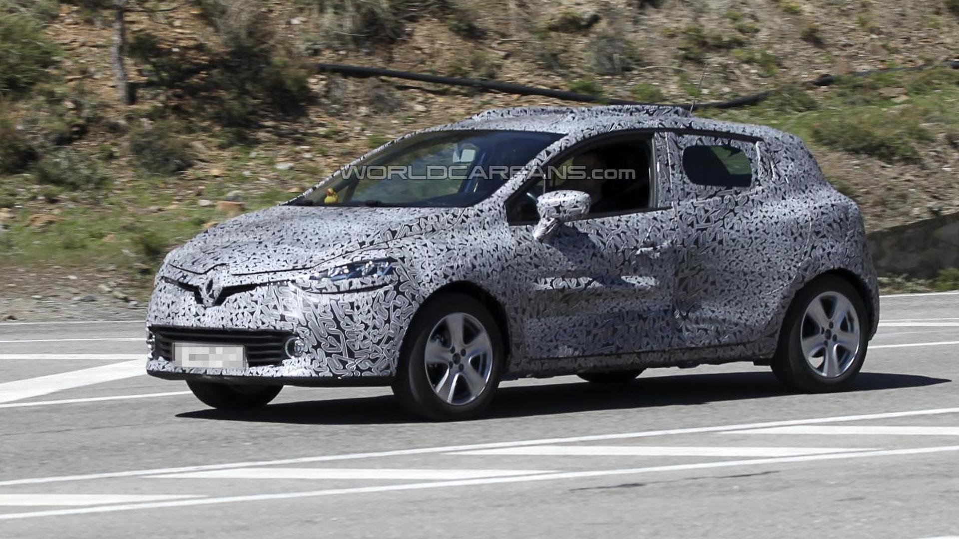 2013/2014 Renault Clio Spied testing
