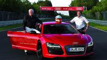 Audi R8 e-tron: world record on the Nürburgring Nordschleife, June 26, 2012