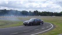 Mercedes-Benz test driver to attempt record drift