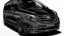 Mercedes V Class Black Crystal is a private jet for the road