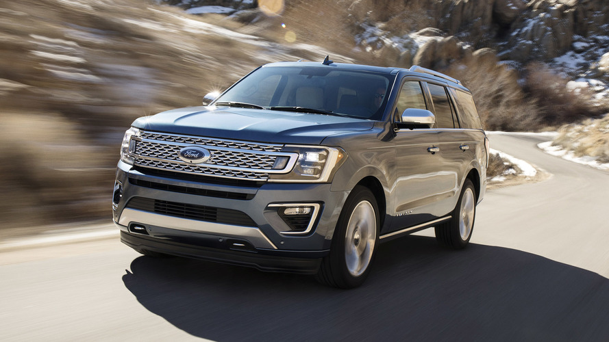 2018 Ford Expedition switches to aluminum to save 300 pounds