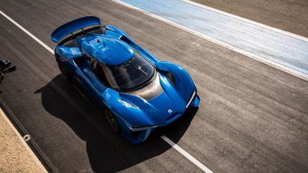 Nio EP9 claims fastest autonomous car lap record at COTA, goes 160 mph