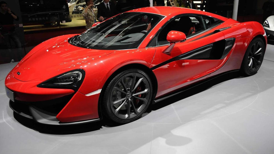 McLaren announces 540C won't be sold in United States