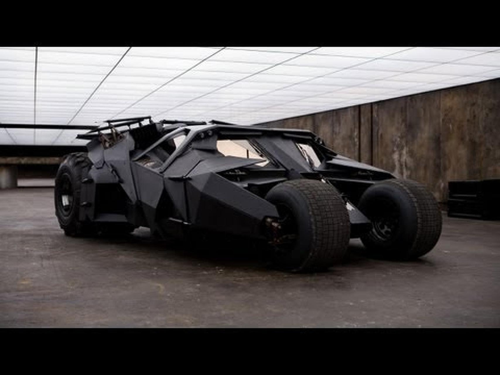 Batmobiles Gather For 'The Dark Knight Rises' Bonus Feature