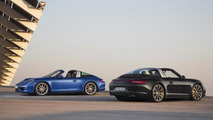 Porsche 911 Targa walkaround video at NAIAS, includes roof operation