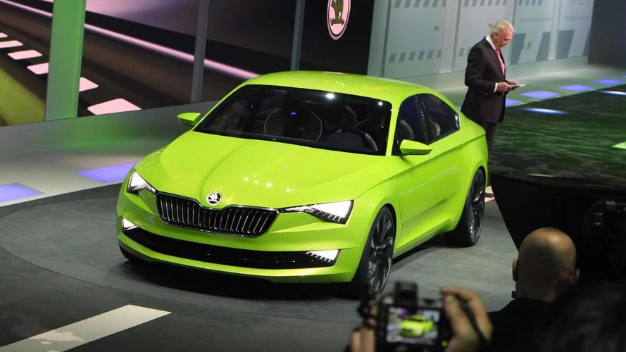 Skoda VisionC concept is an edgy Octavia five-door coupe