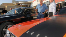 Leno takes receipt of 2008 Dodge Challenger SRT 8