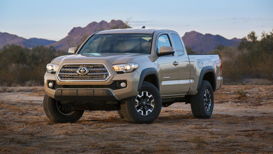 2016 Toyota Tacoma pricing & performance specifications announced