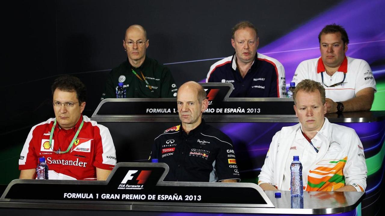 Nicholas Tombazis at FIA press conference / XPB Images