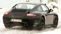 Porsche 911 facelift spy photos