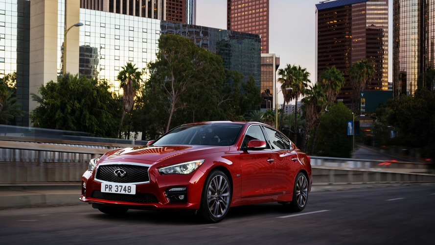 2016 Infiniti Q50 gains new twin-turbo V6 with up to 400 hp