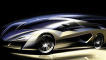 Giugiaro Frazer Nash Teased Ahead of Geneva - World's Fastest Hybrid