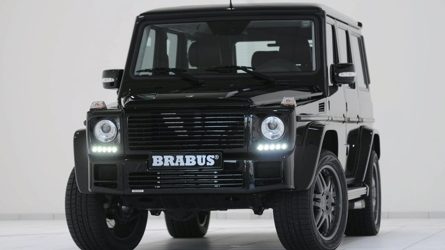 BRABUS G V12 S Biturbo with 700 hp to Bow in Geneva