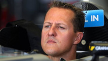 Schumacher not happy to stay in F1 midfield