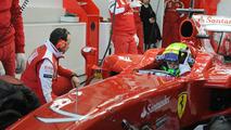 Felipe Massa (BRA), Ferrari F10 Testing, 01.02.2010 Valencia, Spain
