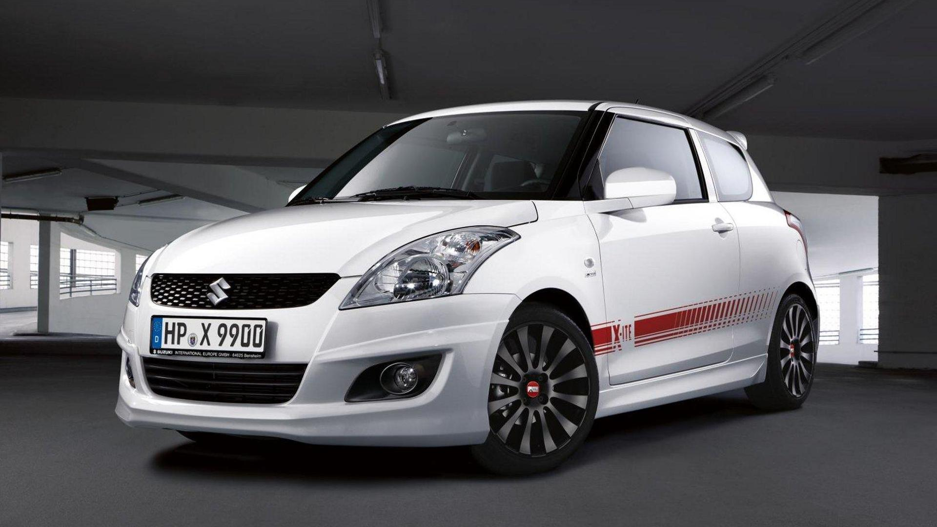 Suzuki Swift X-ITE accessories announced