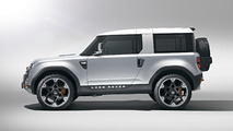 Land Rover Defender Concept 100 makes Indian debut in Firenze Red [video]