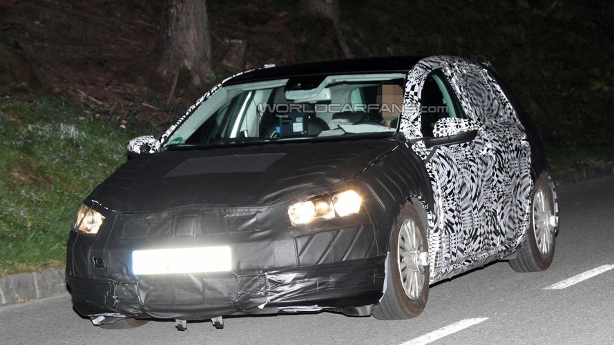 2013 Volkswagen Golf VII rumored to get powerful engines, advanced technology