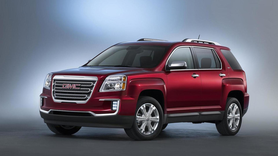 2016 GMC Terrain unveiled with minor tweaks [videos]