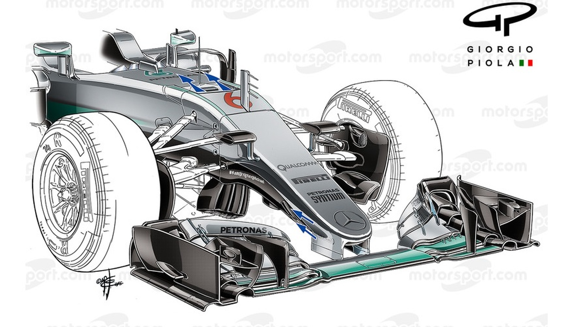 Tech analysis: How Mercedes has taken F1's S-duct to the next level