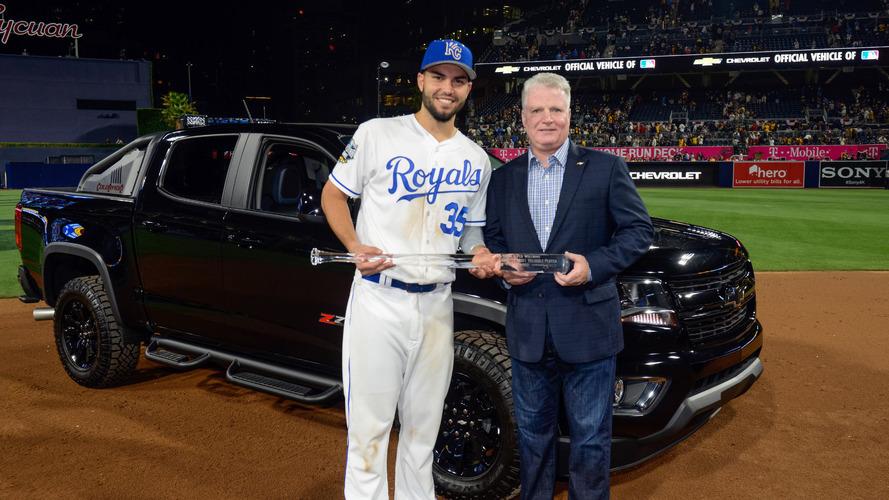 MLB All-Star MVP gets keys to a Chevy Colorado Diesel Midnight Edition