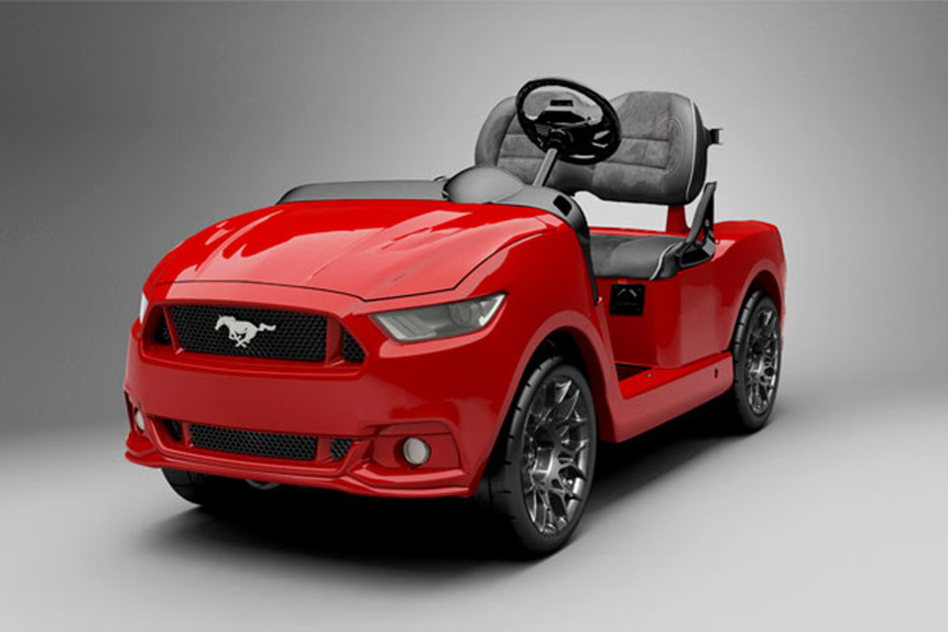 2015 mustang golf cart costs almost as much as a regular mustang. Black Bedroom Furniture Sets. Home Design Ideas