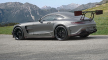 Mansory's Mercedes-AMG GT S rear wing is visible from the moon