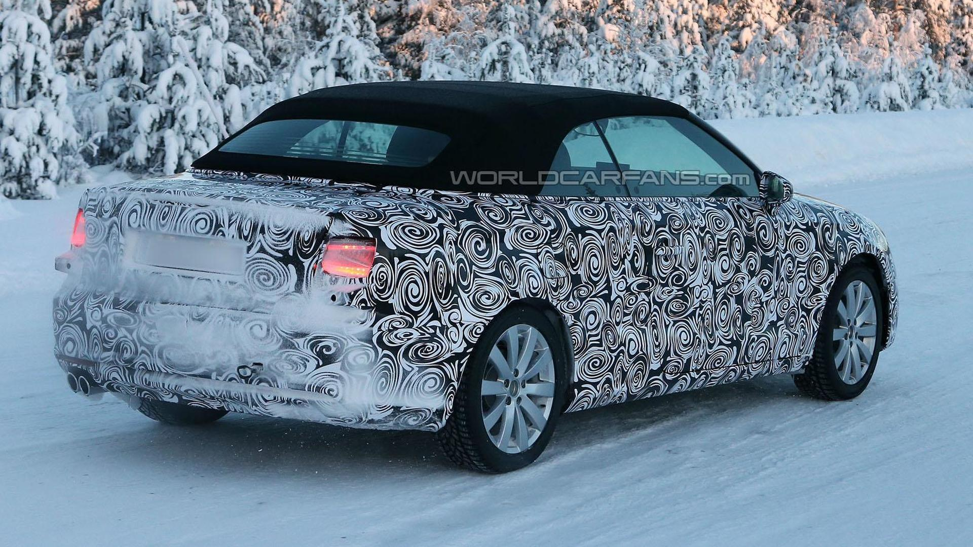 2014 Audi A3 Cabrio spied on video for first time