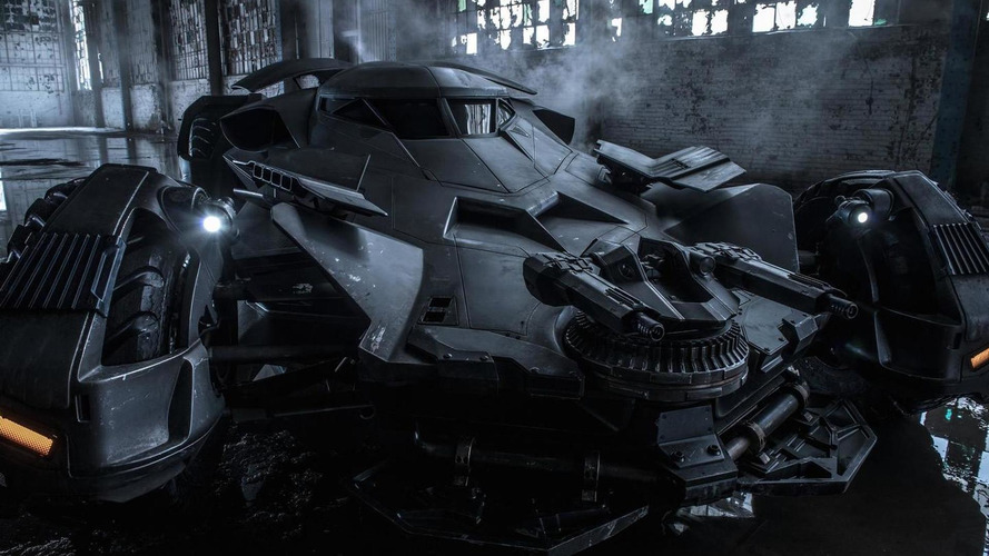 Batmobile from Batman v Superman: Dawn of Justice revealed