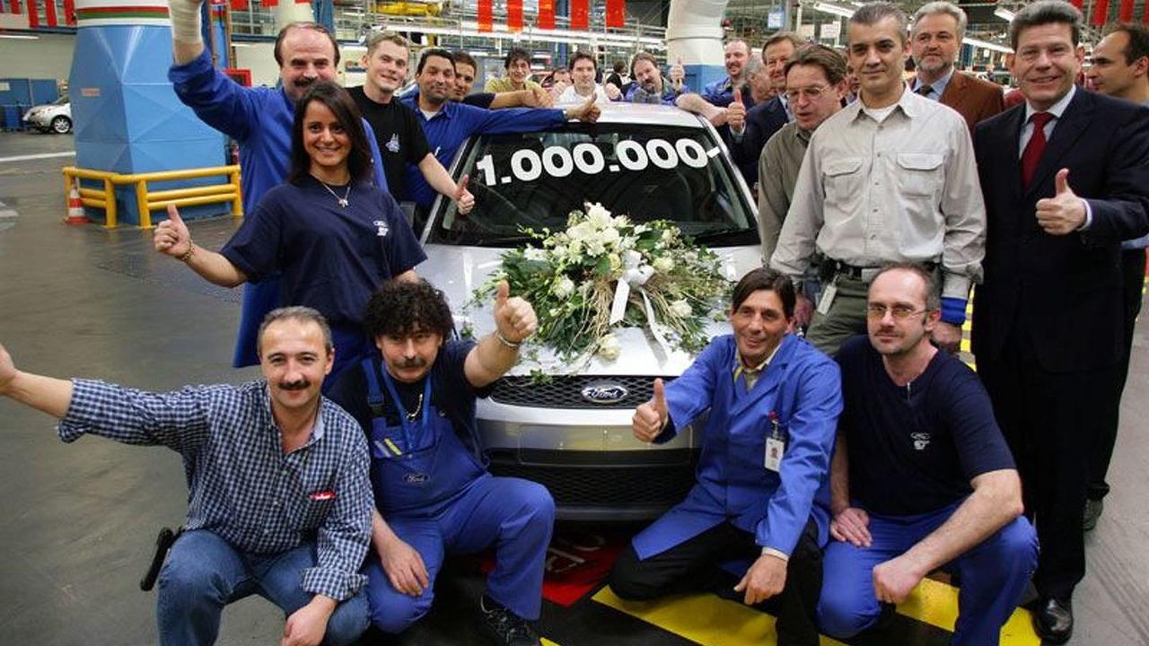 Ford Fiesta 1 millionth milestone
