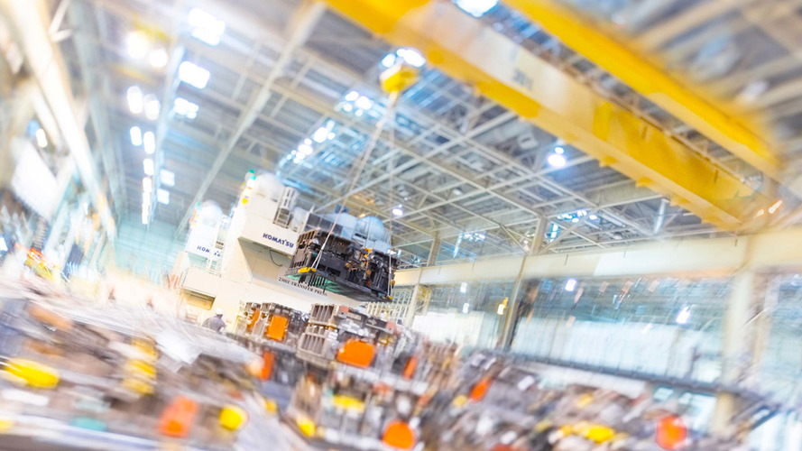 Toyota UK manufacturing plant
