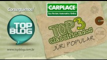 Top3! CARPLACE é um dos 3 finalistas do prêmio TopBlog 2010