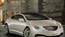 Rendered Speculation: Lagonda Sedan