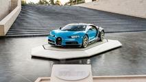 Bugatti Chiron - Absente du Mondial mais présente à Paris!
