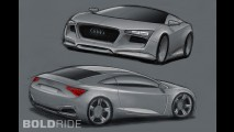 Audi R4 Concept by Rene Garcia