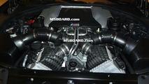 BMW F10 M5 engine photos