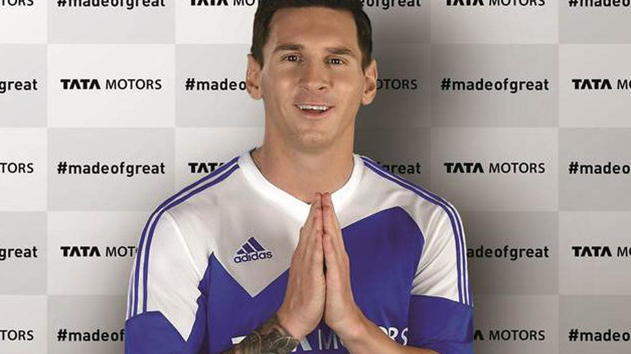 Lionel Messi global ambassador for Tata