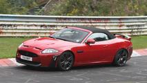2012 Jaguar XKR-S spied on the ring 16.08.2011
