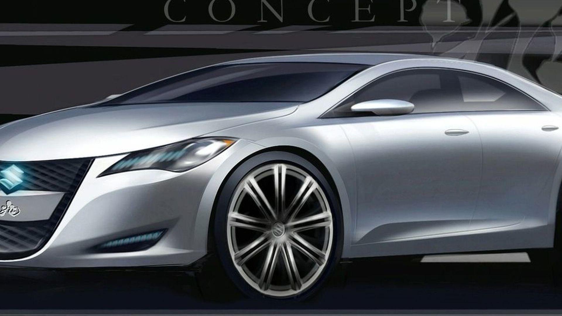 Suzuki Kizashi 3 Concept Headed for New York