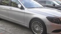 2014 Mercedes-Benz XL spied as a plug-in hybrid