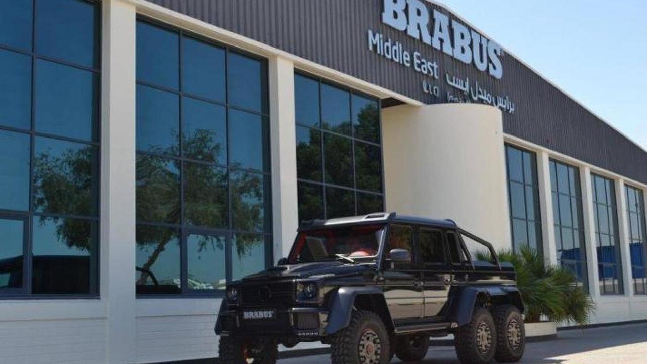 Brabus B63S 700 6x6